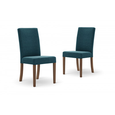 Set of 2 Dining Chairs Tonka | Turquoise