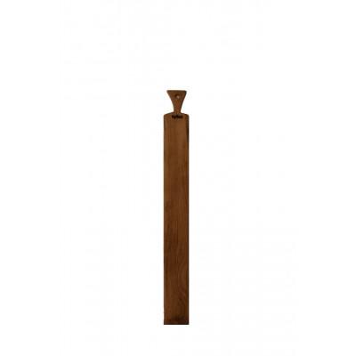 Schmaler hölzerner Tapas-Boden 90 x 10 cm
