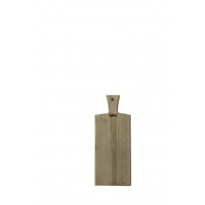 Kleines hölzernes Tapas-Brett 45 x 15 cm