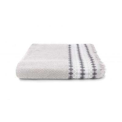 Bath Towel Kendall | Silver