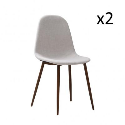 Stühle Sofie 2er-Set   Beige