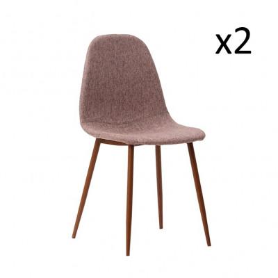 Stühle Sofie 2er-Set   Taupe