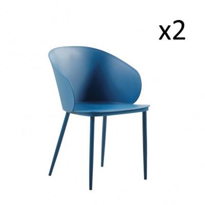 Stühle Dalis 2er-Set   Dunkelblau