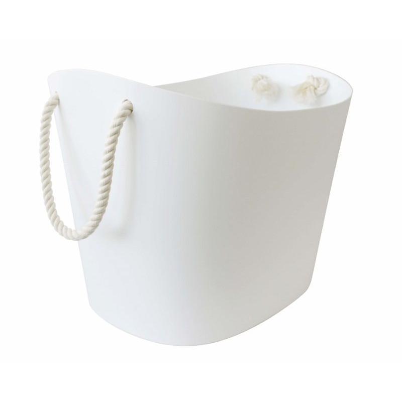 Balcolore Storage Basket | White-Small
