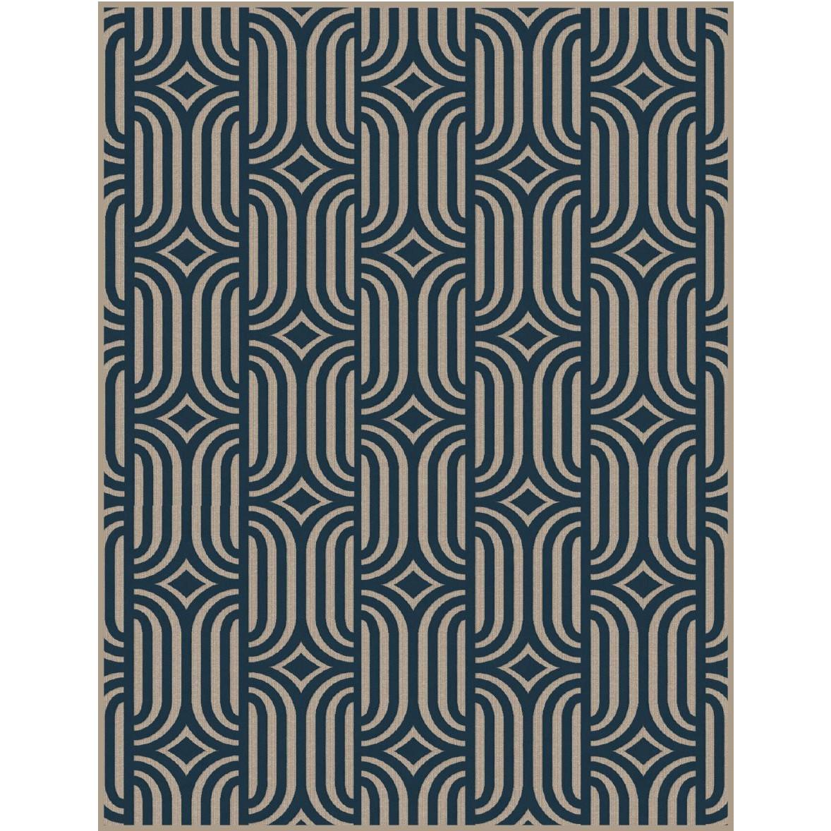 Horta Carpet   Blue