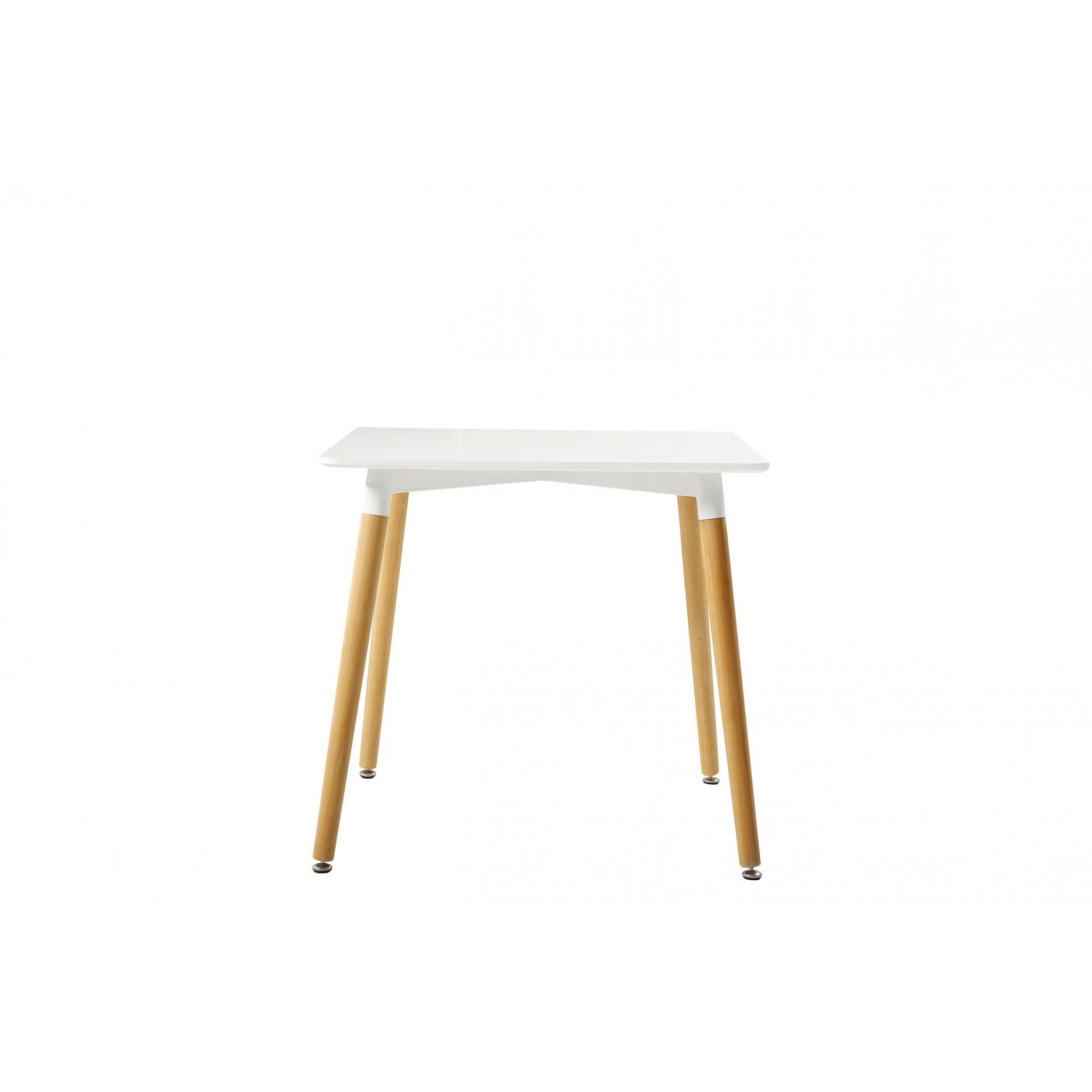 Table Diamond Metal   White