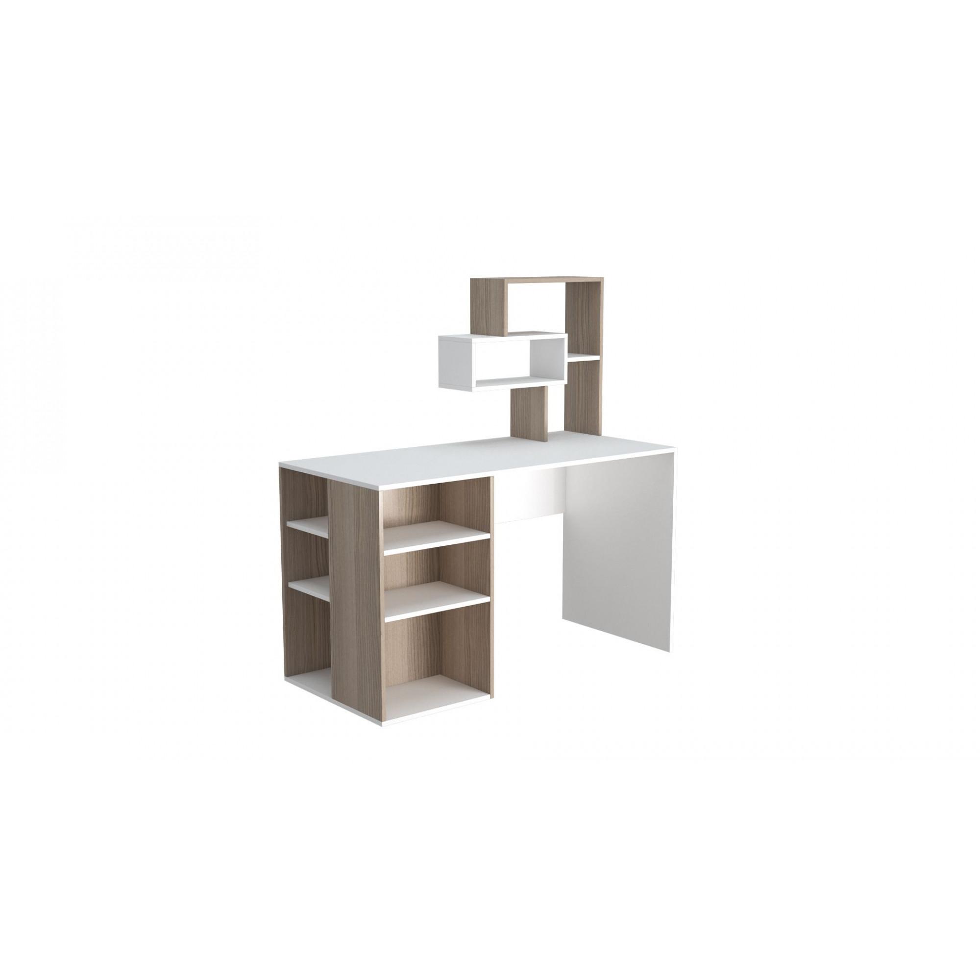 Schreibtisch Esmes | Weiß & Cordoba
