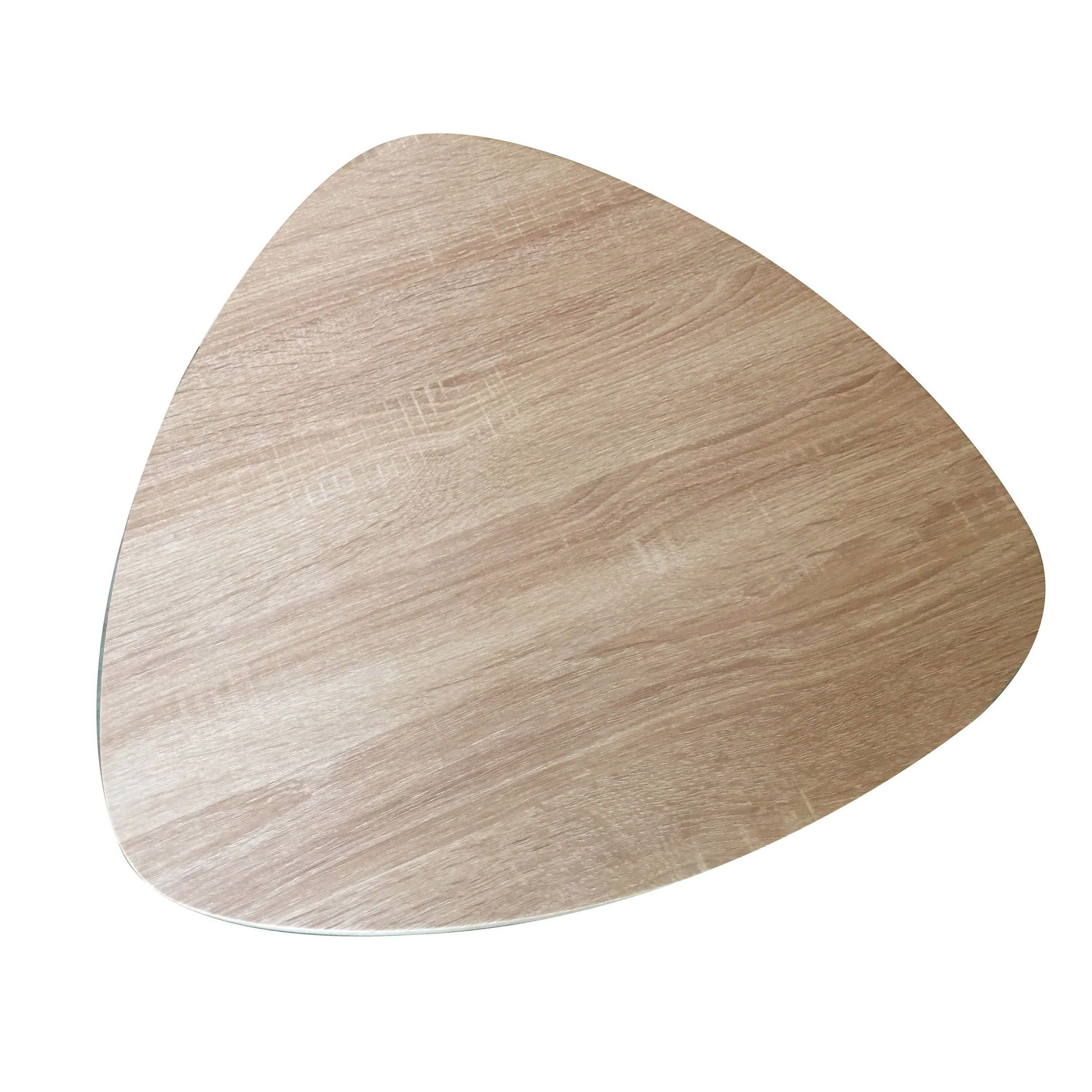 Coffee Table Pictor H 50 cm   Black, Wood
