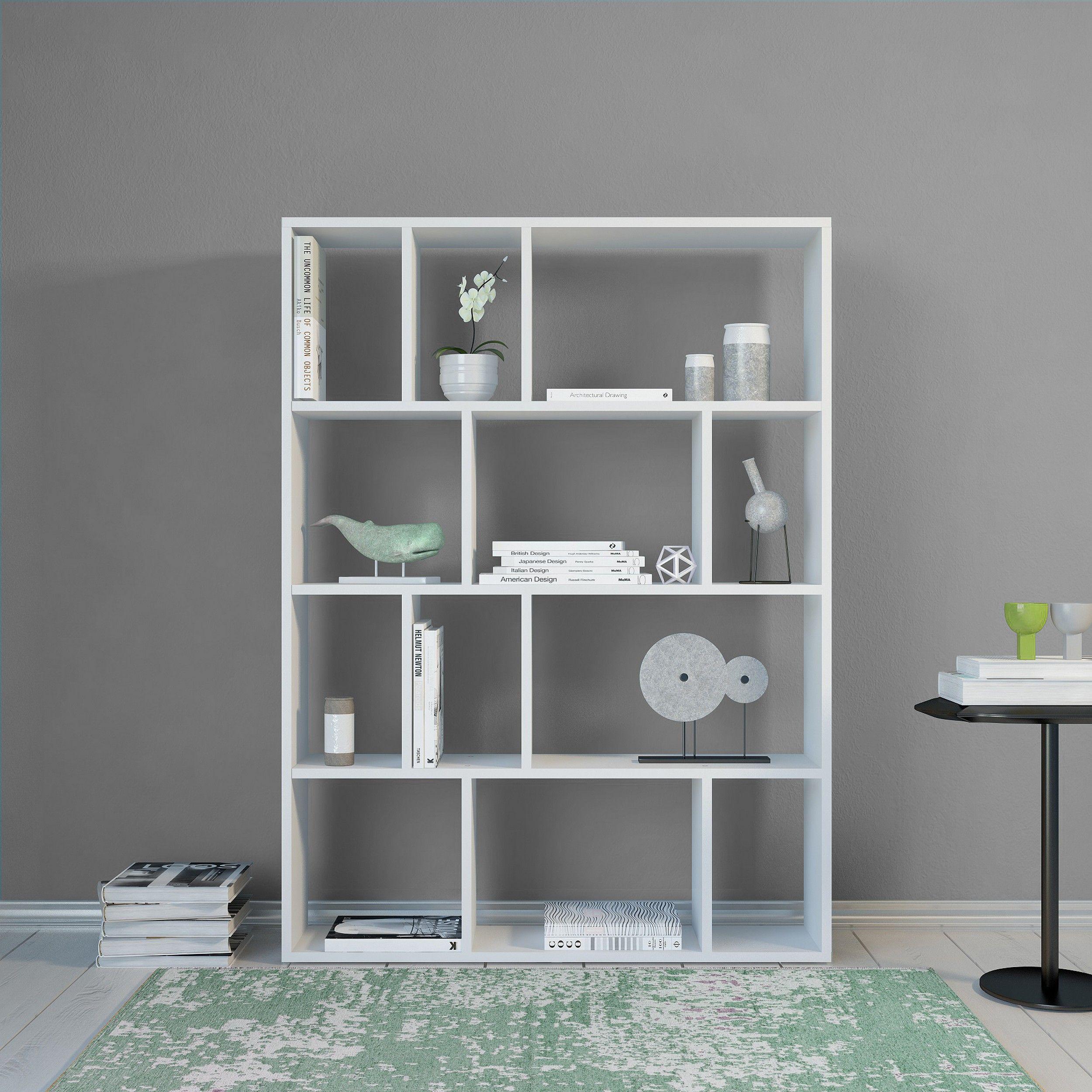 Bookcase Aidan | White