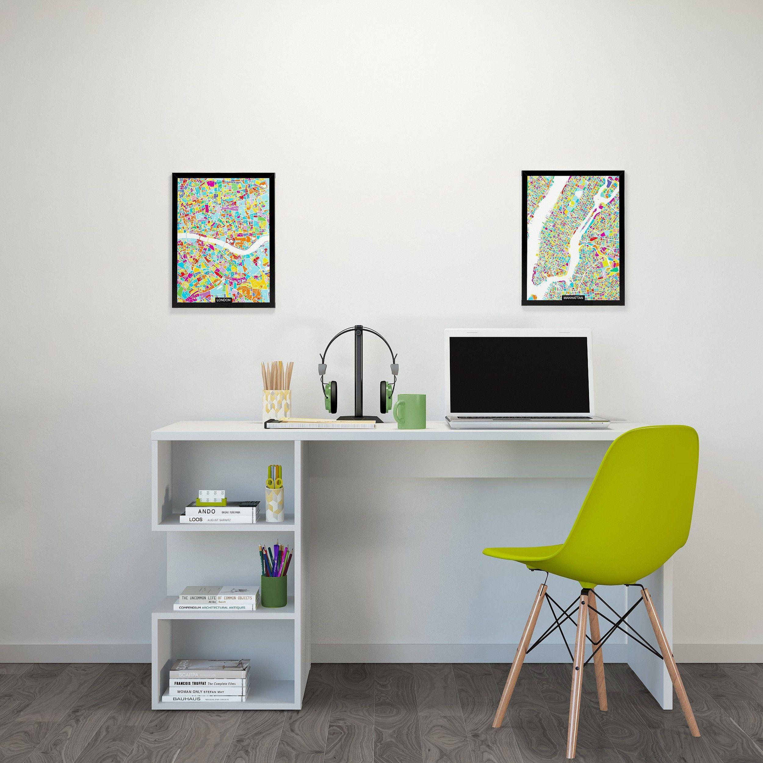Schreibtisch Martha | Weiß