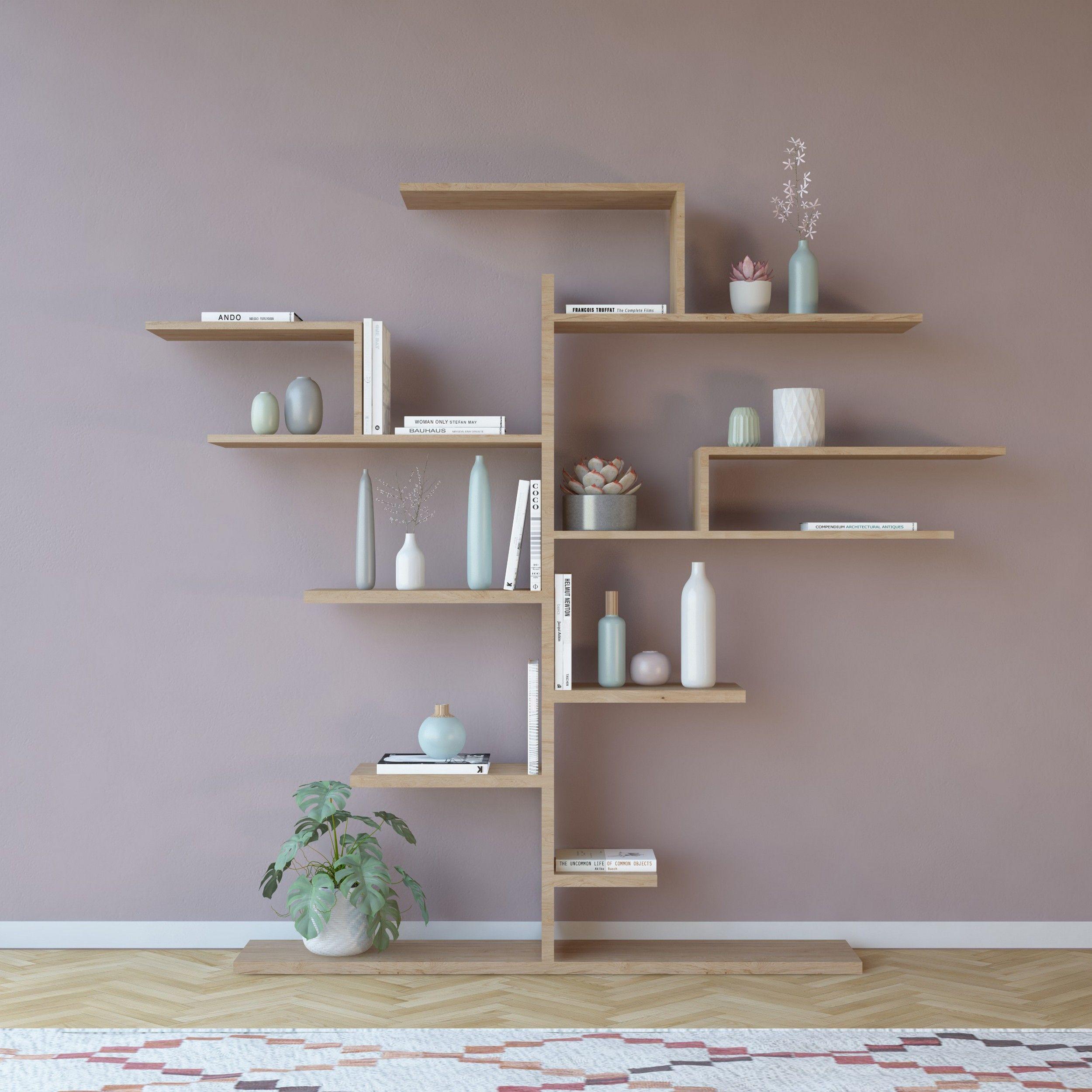 Boekenkast Tree | Hout
