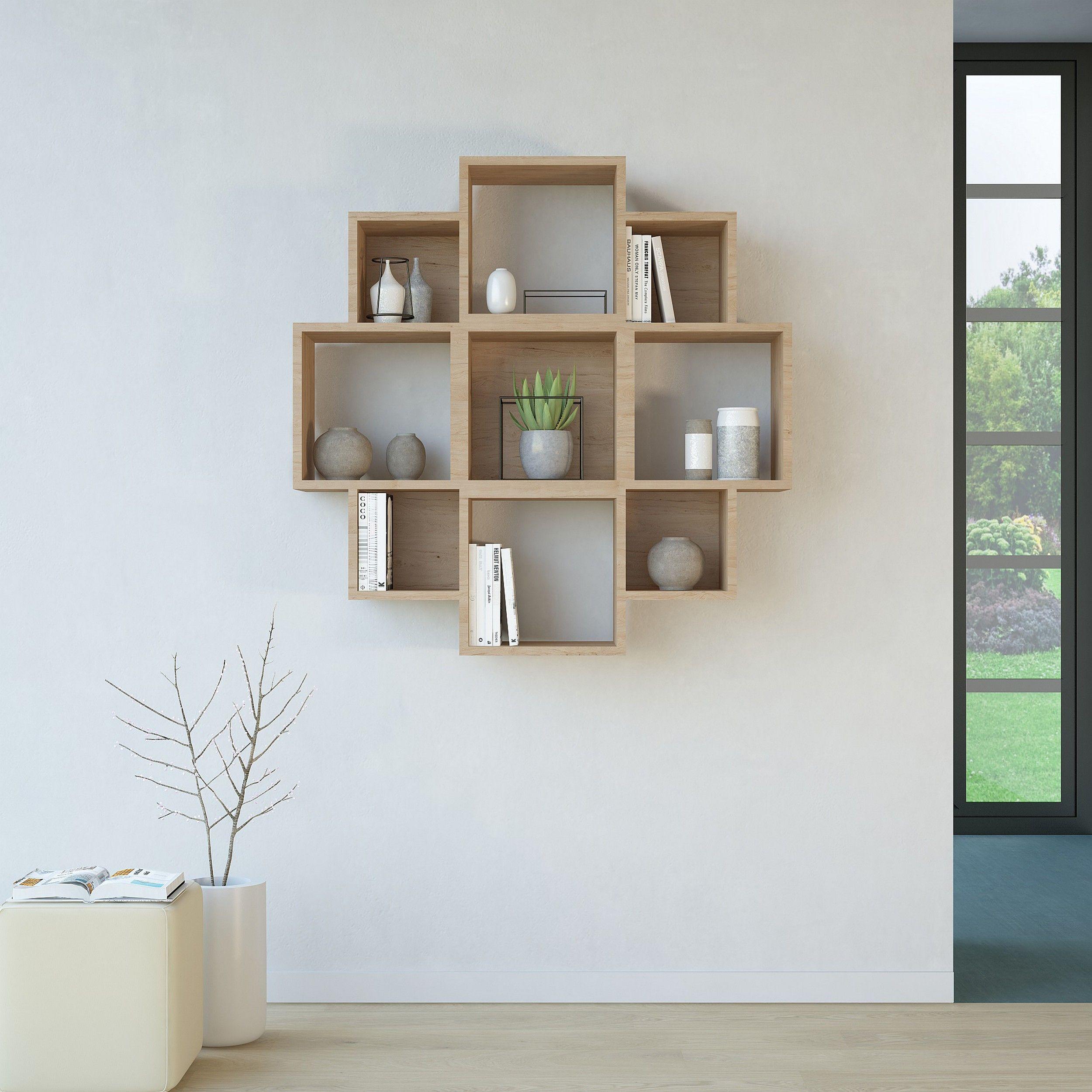Bookshelf Iris   Wood