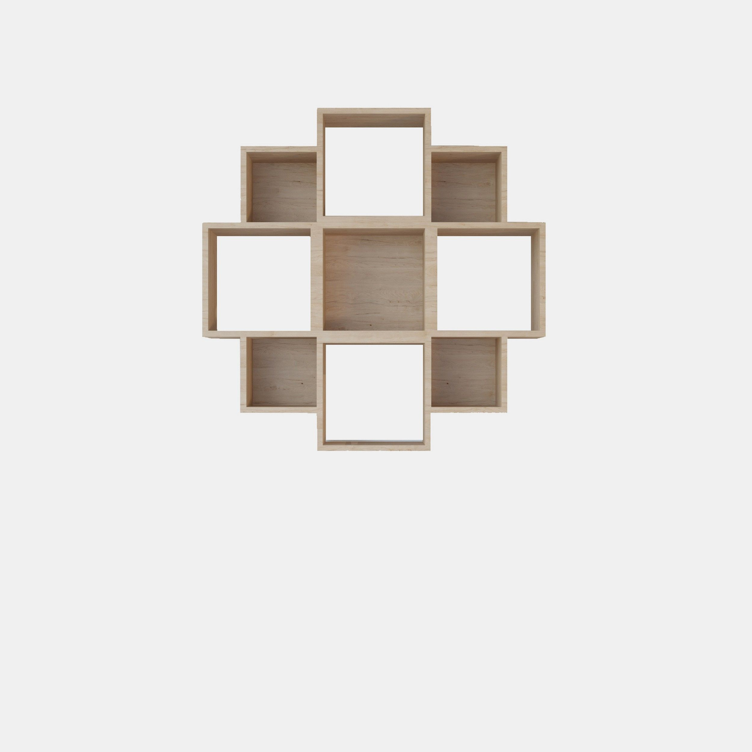 Bookshelf Iris | Wood