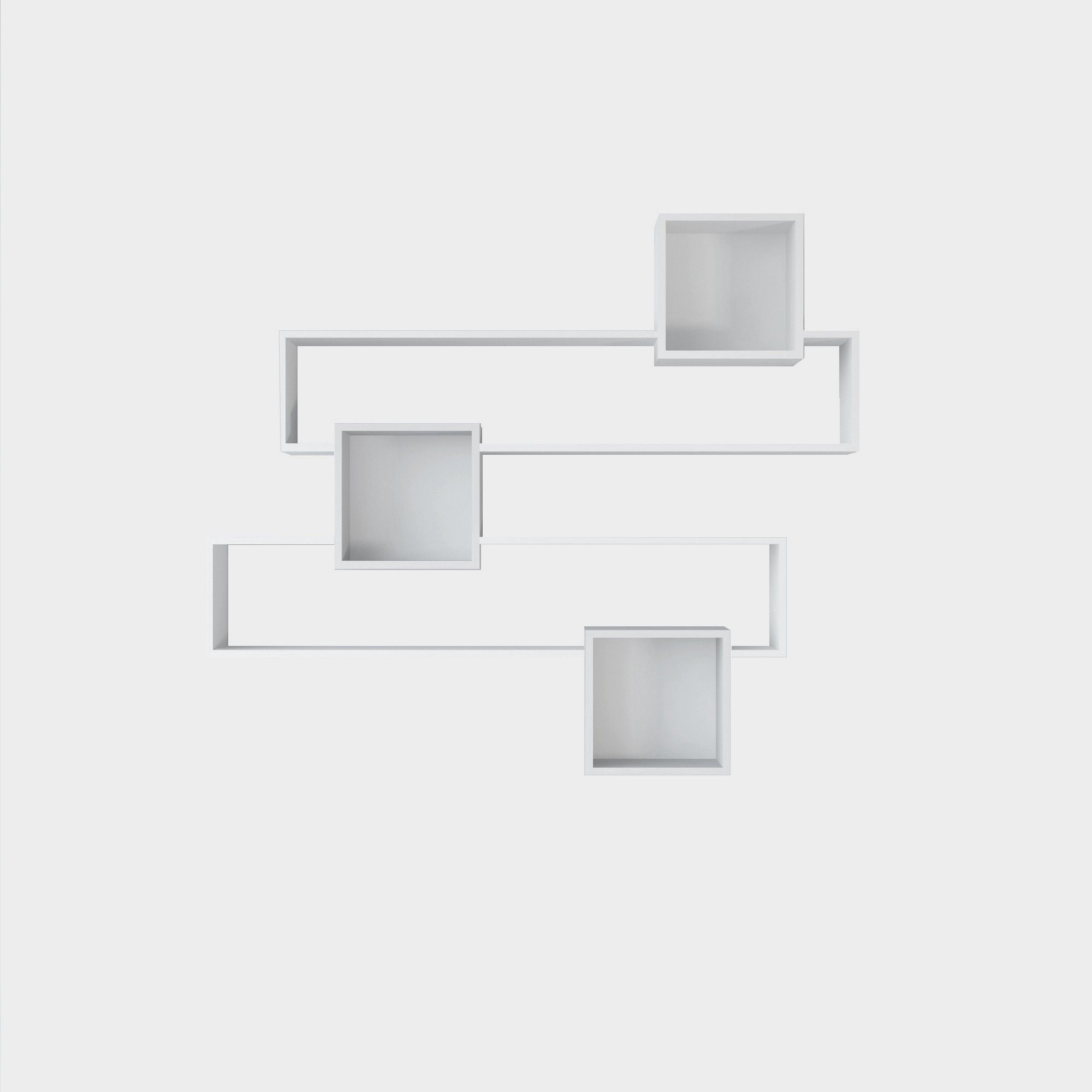 Bookshelf Geo | White