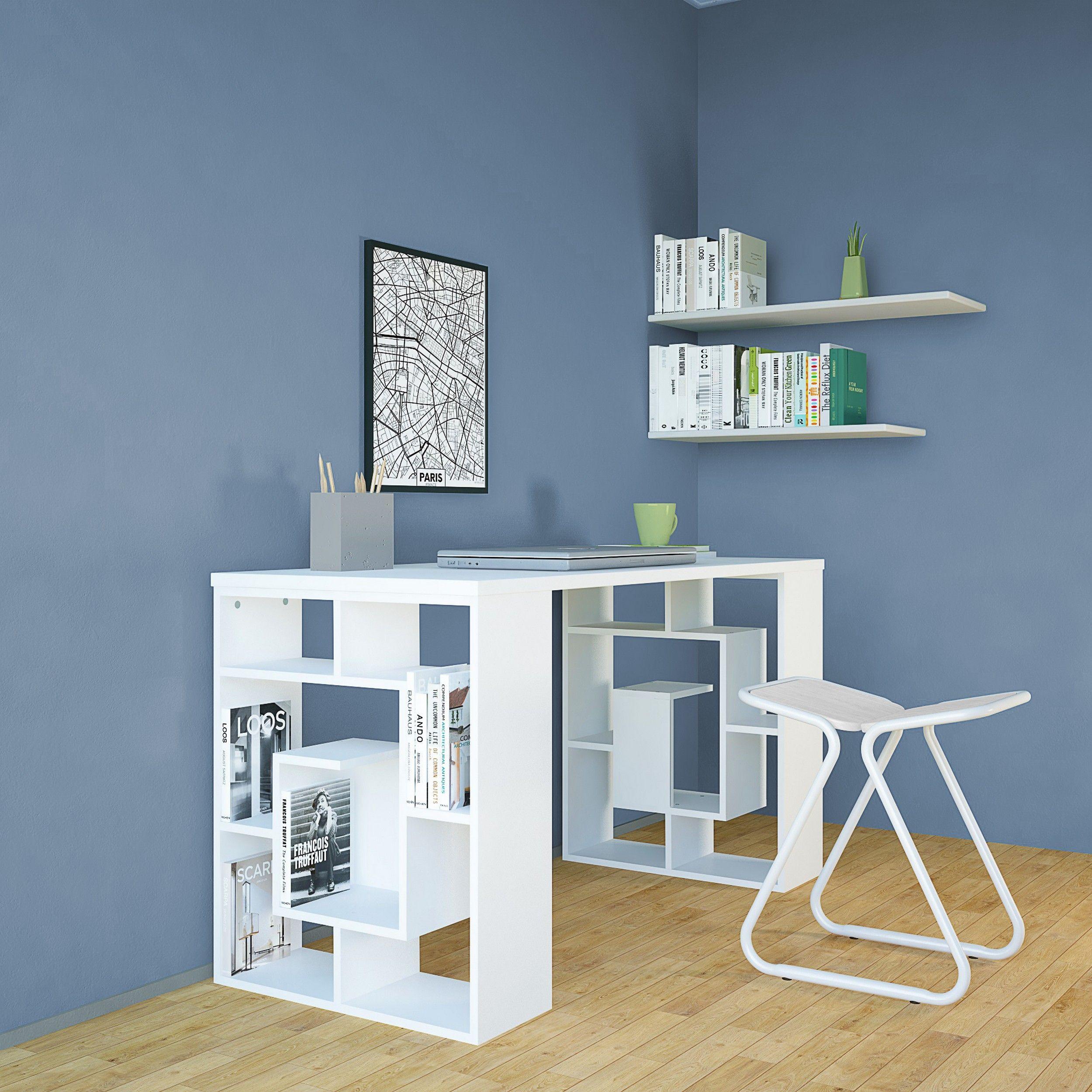 Schreibtisch Carrie   Weiß