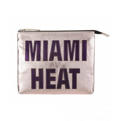 Miami Heat Leather iPad Clutch   Pink