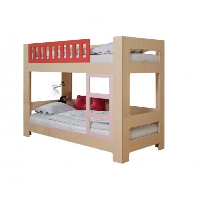 Bunkbed Lullaby | Red & Pink