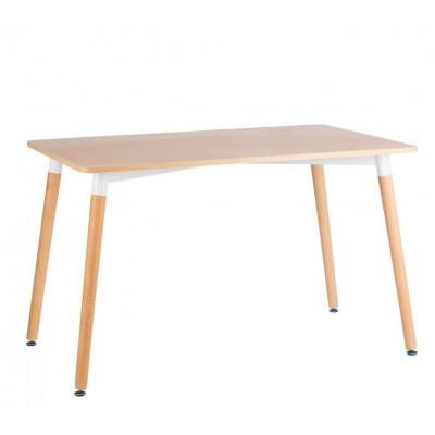 Tisch Diamant PVC 120 cm   Weiß