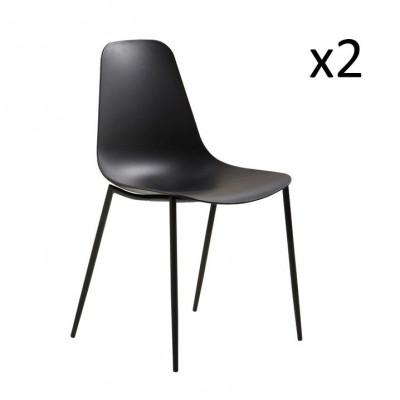 Stühle Antila 2er-Set | Schwarz