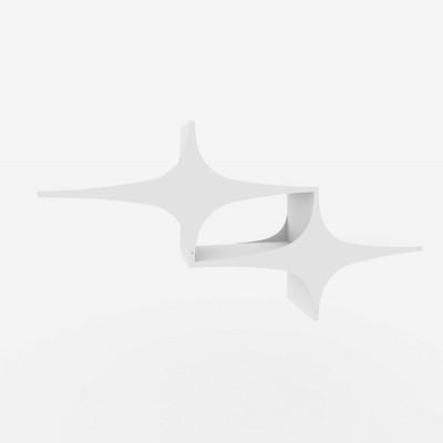 Regal Chausey | Weiß | 2er-Set