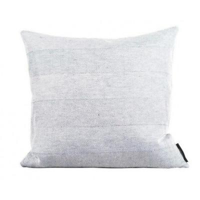 Leinen-/Baumwollkissen aus Weiß | Quadrat