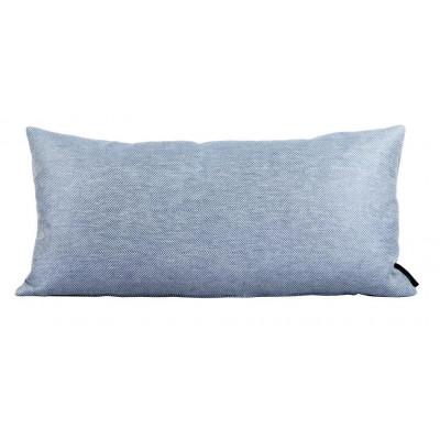 Leinen/Baumwollkissen Blau | Rechteckig