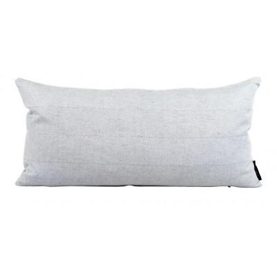 Leinen/Baumwollkissen aus Weiß | Rechteckig