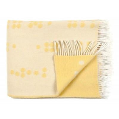 Wool Throw | Dot Yellow