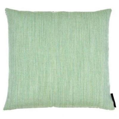 Kissen aus Wolle/Leinwand | Grün