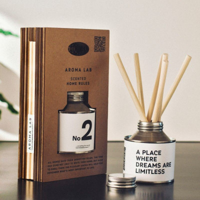 Home Fragrance 'Home Rule'  | No.2 & Flowers