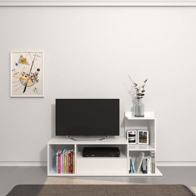 TV-Ständer Sumatra   Weiß