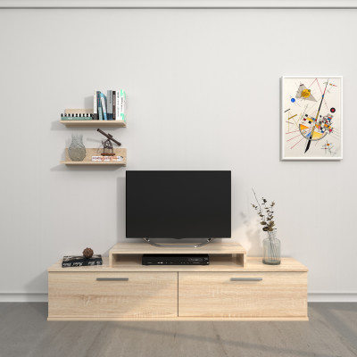 Kabinett + Regal Orione | Sonoma