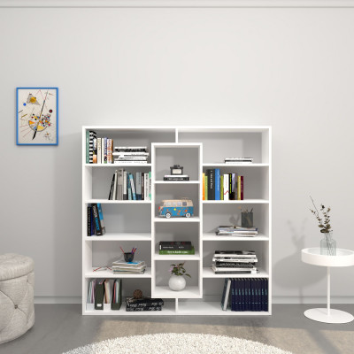 Bücherregal Dalia   Weiß