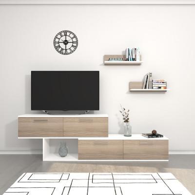 TV-Ständer Antipodi   Weiß & Cordoba