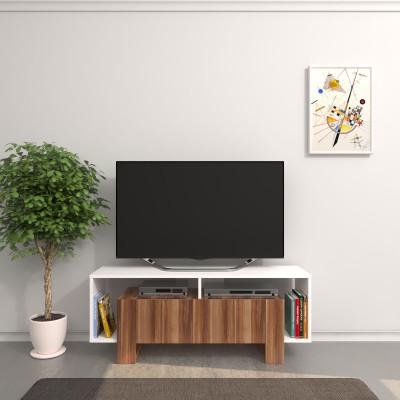 TV-Ständer Melville   Weiß & Holz
