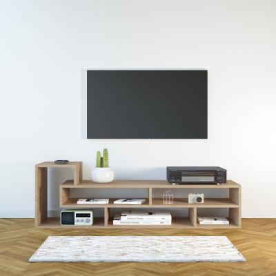TV-Ständer Mickey   Helles Holz