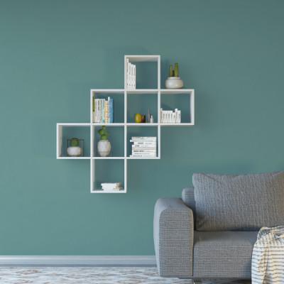 Bücherregal Davie | Weiß