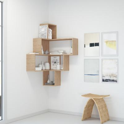 Bücherregal Alison | Braun