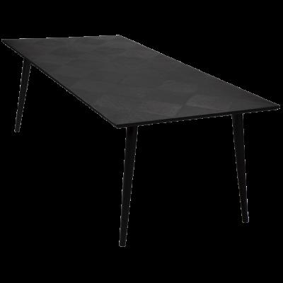 Tisch HOOD | Schwarz gebeiztes Eschenholz