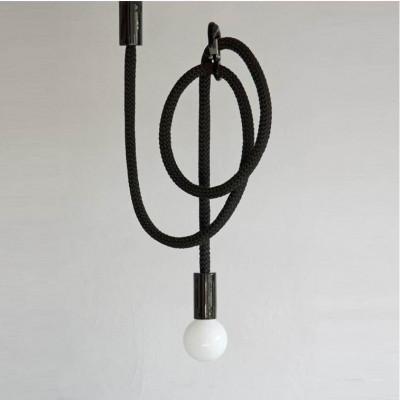 Hook Line Lampe | Schwarz