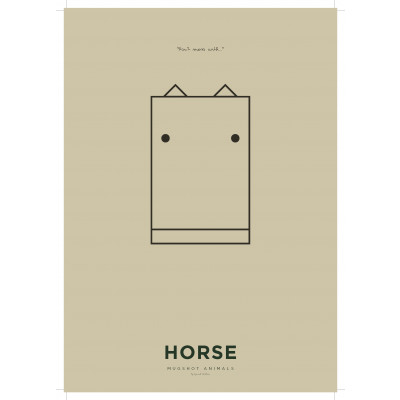 Poster A3 | Horse