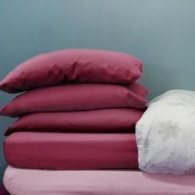 Kopfkissenbezug | Berry Pink