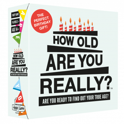 Partyspiel How Old Are You Really? (auf Englisch)
