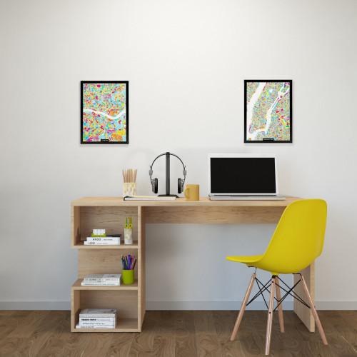 Schreibtisch Martha | Holz