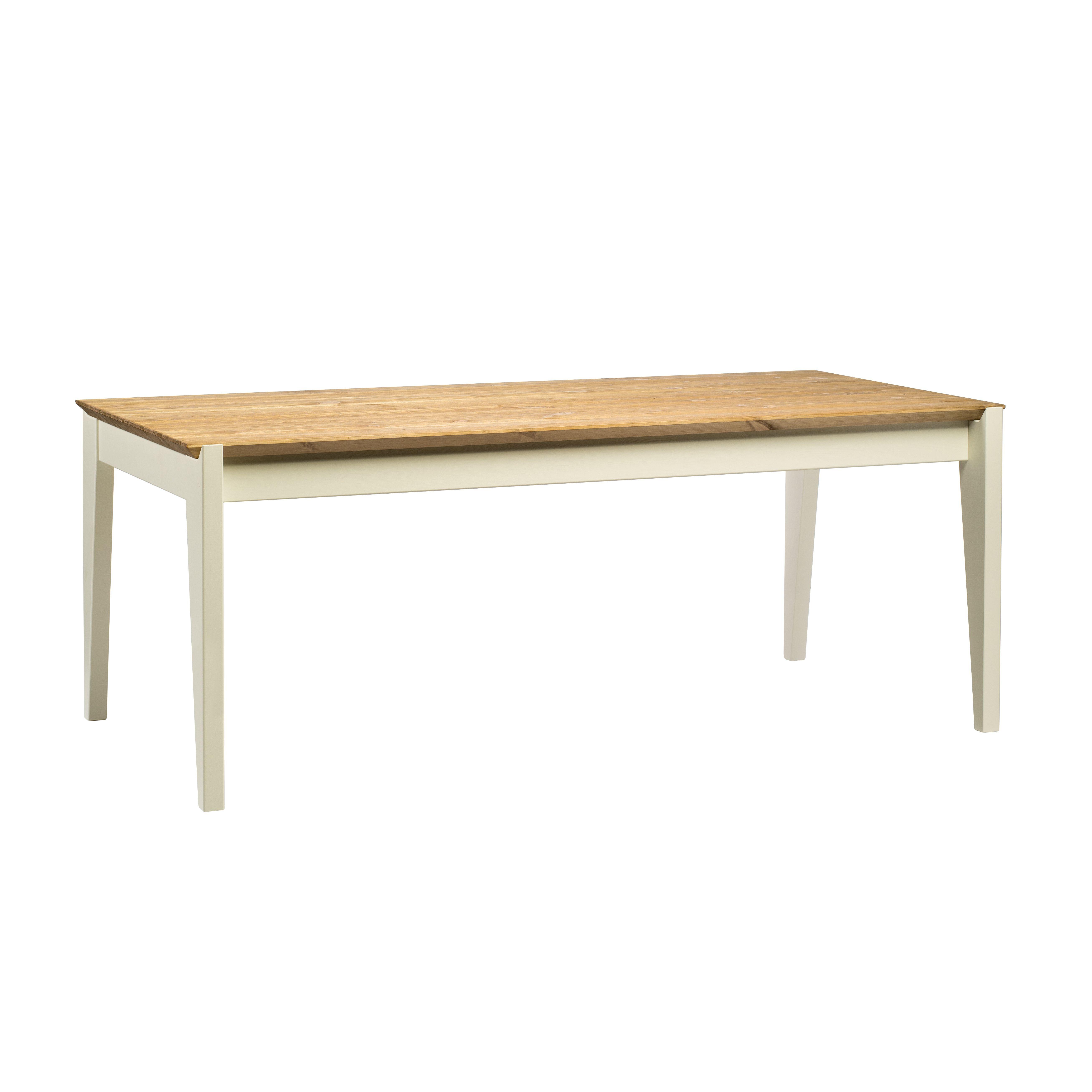 Hook Table 190   Warmes Weiß