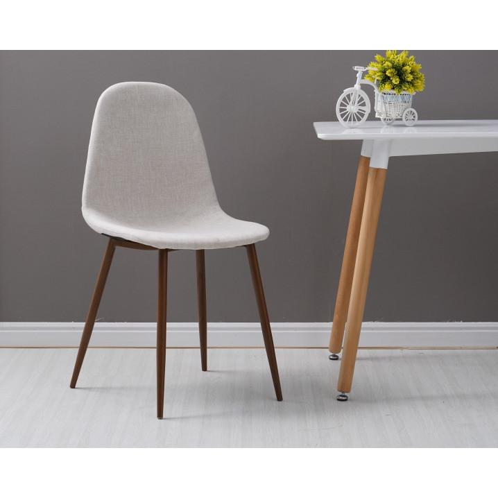Chaises Sofie Set de 2 | Beige