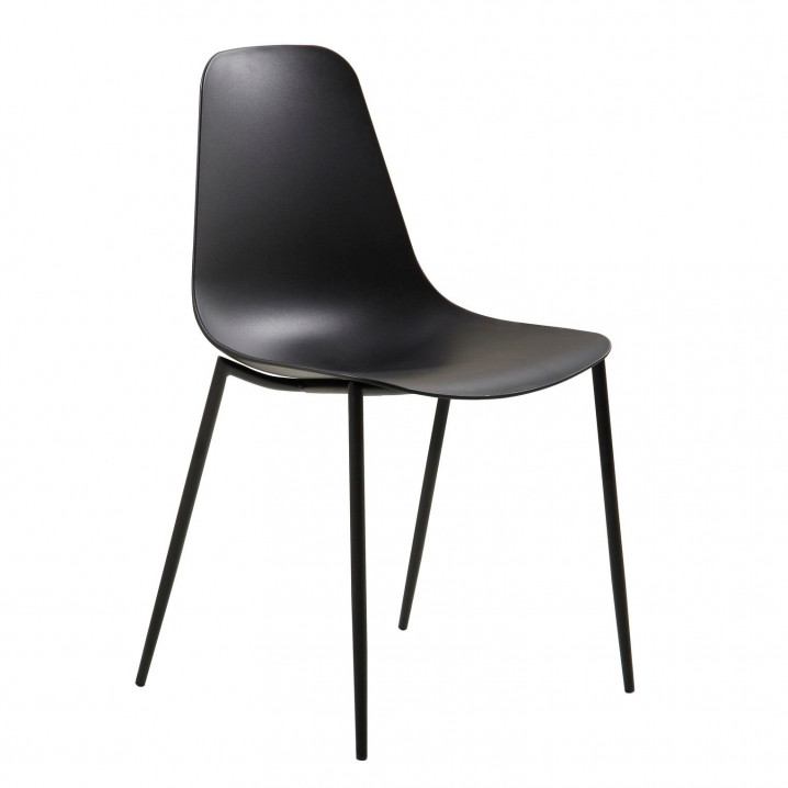 Chaises Antila Set de 2   Noir