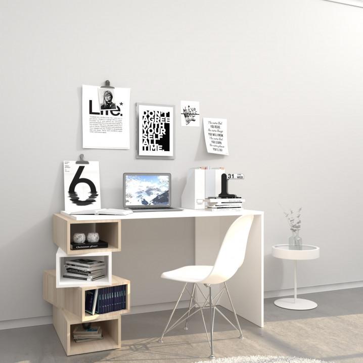 2tes Leben   Schreibtisch Damon   White & Sonoma