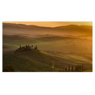 Sonnenaufgang Toskana Kunstfotografie