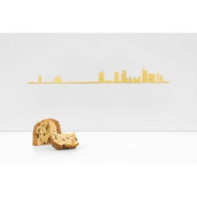 Wanddekoration Milan | Gold